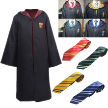 e6f2724971996f Harry Potter szata peleryna płaszcz Gryffindor Slytherin Ravenclaw  Hufflepuff szlafrok Cosplay kostiumy dla dzieci dla dorosłych