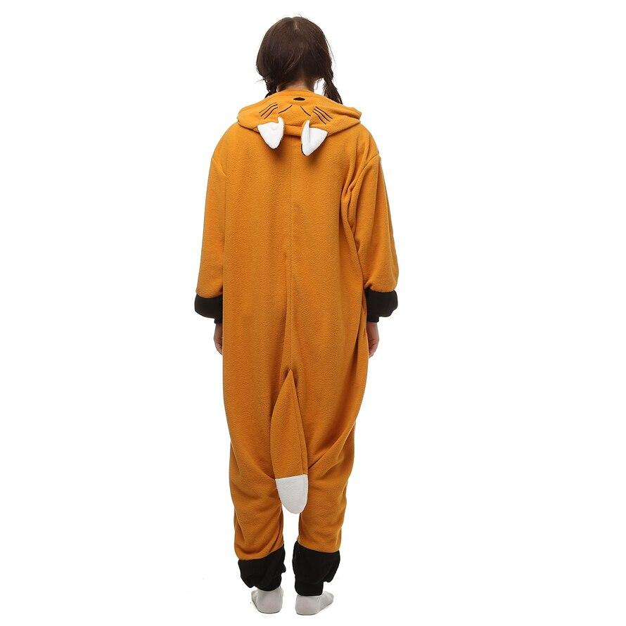 Fox Fleece Kostuums Dames Heren Jumpsuit Pyjama Halloween Party - Carnavalskostuums - Foto 5