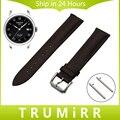 18mm 20mm 22mm Quick Release Watch Band Genuine Leather Strap for Tissot Men Women Wrist Belt Stainless Steel Buckle Bracelet