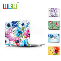 1PC Newest Peony Flower Laptop Body Shell Protective Hard Case For Apple Macbook Air 11 13