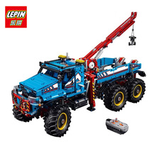 LEPIN 20056 1912 Unids El Mejor Todo Terreno 6X6 Camión de Control Remoto Serie Técnica de Construcción Juguetes de los Ladrillos Bloques para Los Niños