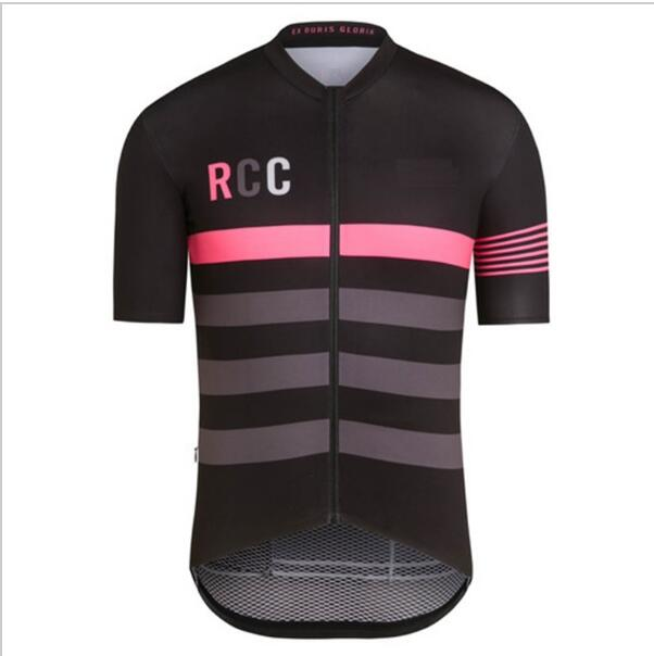 все цены на  Rcc Summer Short Sleeve Cycling Clothing Ropa Ciclismo Bike Racing Cycling Tops Team Cycling Jersey Sleeves With Italy MITI  онлайн