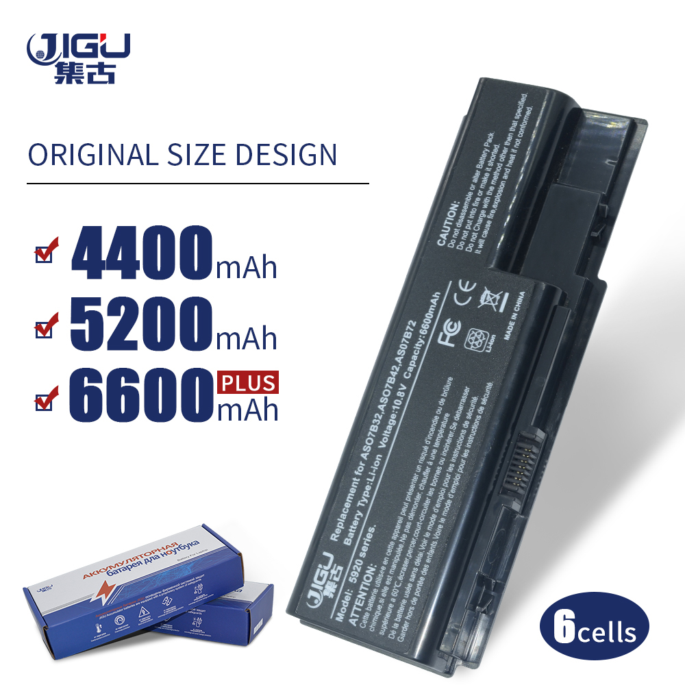 JIGU batería del ordenador portátil para Acer Aspire 5920 de 5315 a 5520G 6930, 6935, 7230, 7330, 7520, 7530 AS07B31 AS07B32 AS07B41 AS07B42 AS07B51 JIGU batería del ordenador portátil para Acer AS07B31 AS07B32 AS07B41 AS07B42 AS07B51 AS07B52 AS07B71 AS07B72 AS07B31 AS07B51 AS07B61