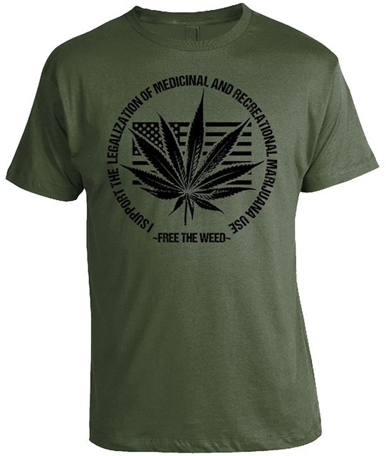 Free The Weed – Legalization T-Shirt