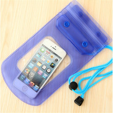 Waterproof Bag Sealed Mobile Phone Bag Pouch Cases Cover for iPhone for Samsung for Huawei for Xiaomi(China)