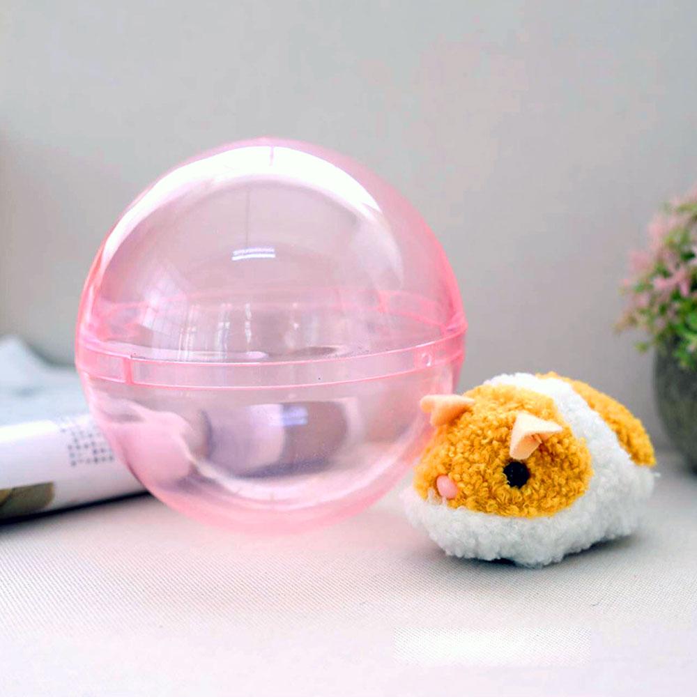 Пробежка хомяк Хрустальный мячик хомяк бегущий мяч хомяк электрический пластиковый бегущая игровая площадка пробежка милый в помещении моделирование