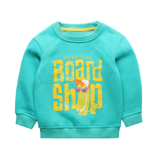 CHRISTMAS Kids 2016 Boys Hoodies Long Sleeve cartoon Hooded Kids Coat Outerwear Autumn Winter Boys Tops Children Clothing