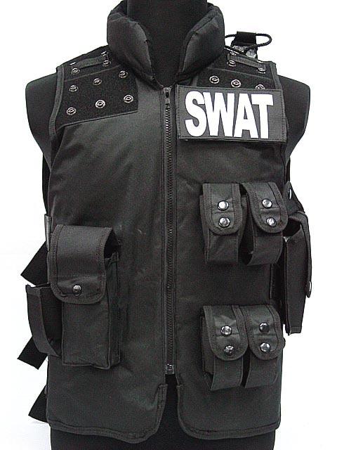 Chaleco de caza de equipo Airsoft para hombre, chaleco de Airsoft para policía, modelo Molle, chaleco táctico negro militar CS, equipo protector SWAT LYZ, tácticas SWAT, escudo, juguetes para juego de callos
