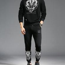 Спортивный костюм 2 шт спортивный костюм для мужчин с капюшоном