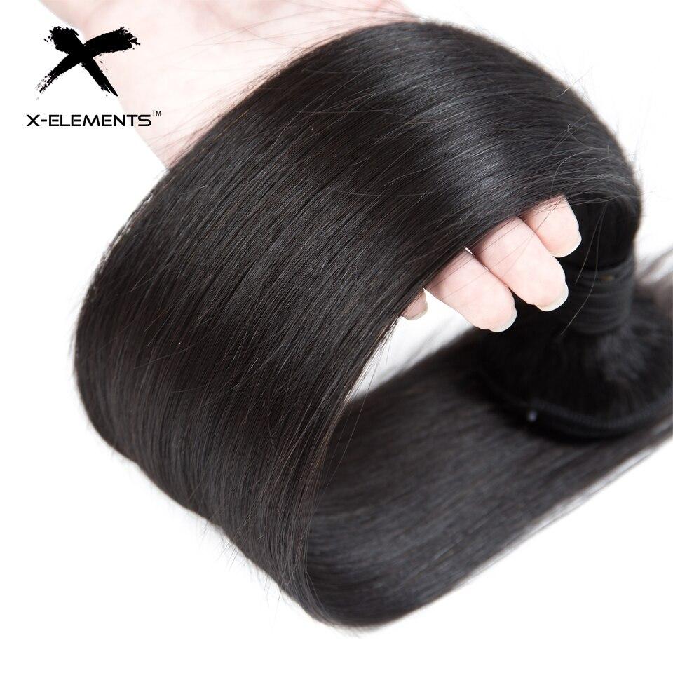 X-Elements Συσσωματώματα Ανθρώπινης - Ανθρώπινα μαλλιά (για μαύρο) - Φωτογραφία 5