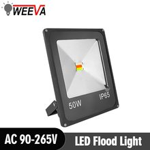 LED Flood Light Floodlight AC 220V Garden Square LED Spotlight Outdoor Lighting 10W 20W 30W 50W Projector Reflector Wall Lamp(China)