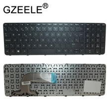 GZEELE New for HP Pavilion 15 15T 15-e 15-E000 15-N000 15-n100 15t-e000 15t-n100 Keyboard Spanish Teclado SP Latin LA black