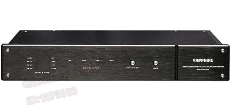 Goldenwave Sapphire Ii Volle Ausgewogene Decoder Audio Reinem Decoder Hifi Dac 32bit/192 Khz Audio Akm Ak4118 Pcm192 Dsd128 Digital-analog-wandler