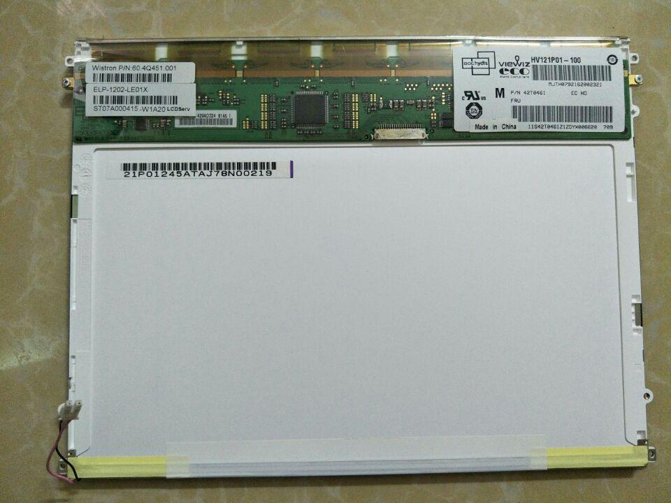 Bilgisayar ve Ofis'ten Tablet LCD'ler ve Paneller'de 100% orijinal Yeni HV121P01 100 IBMx62 x60t X61 modifiye yükseltme orijinal AFFS yüksek puanı tam görüş açısı LCD ekran title=