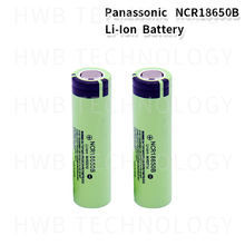 2-20pc 100% nouveau Panasonic Original NCR18650B 3.7v 3400 mah 18650 Lithium batterie Rechargeable lampe de poche batteries
