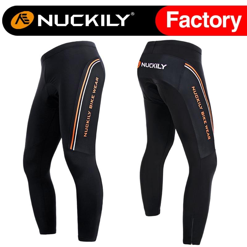 ФОТО Nuckily winter Sports tights new model men's cycling  fleece tights  MF006