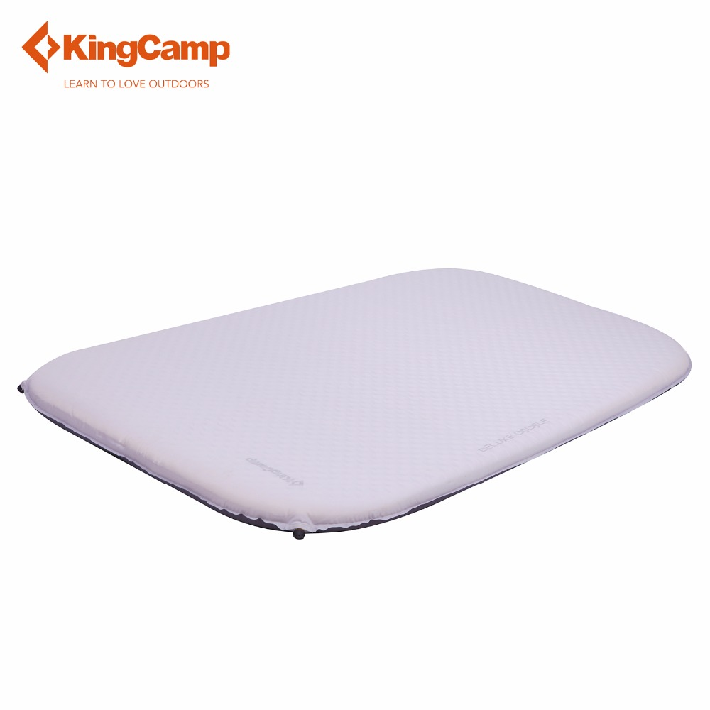 kingcamp oasis 300 KingCamp Sleeping Pad Outdoor Sleeping Mat DELUXE DOUBLE Self-Inflating Camp Pad for Camping