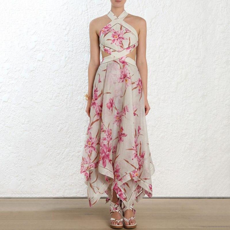 302ba1d0be455 2019 Vintage Print Women's Shirt Dress Designer Long Sleeve Female ...