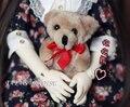 1/6 1/4 1/3  BJD SD DD Doll accessories 8 cm mini bear  photography tool