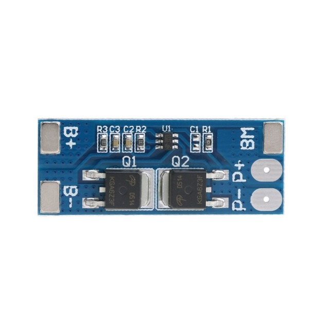 2s 8a Li-ion 7.4v 8.4v 18650 Bms Pcm 15a Peak Current Battery Protection Board Bms Pcm For Li-ion Lipo Battery Cell Pack Max 15a 3