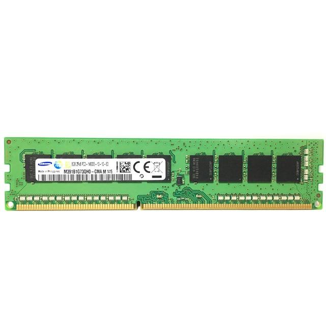 Samsung 2 ГБ 8 ГБ 4 ГБ кода коррекции ошибок DDR3 PC3 12800E 14900E 1600 МГц 1333 1866 МГц сервера desktop Memory 1600 1866 1333 МГц 8 Гб оперативная Память DIMM 3