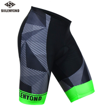 Siilenyond Shockproof MTB Bike Cycling Shorts Downhill With 3D Anti Slip Padded Gel Road Bicycle Shorts Anti Sweat