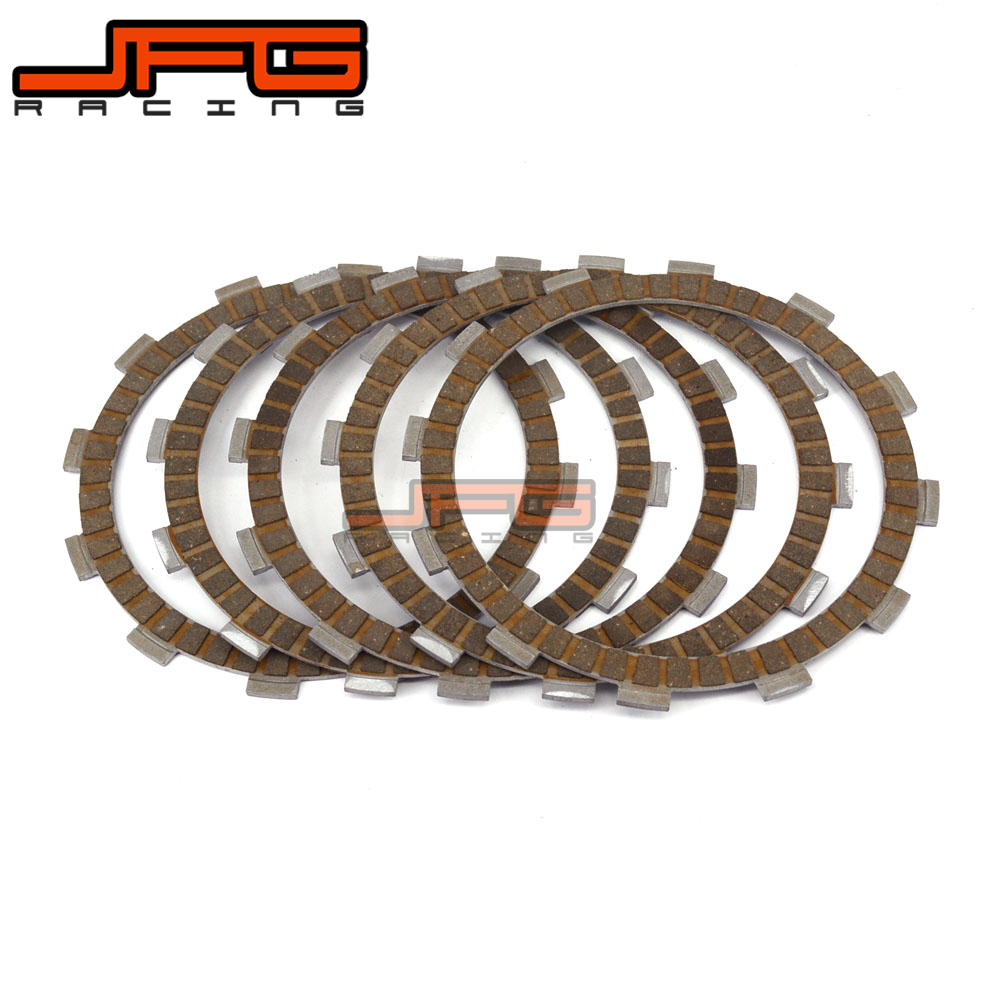 Motorcycle 5 PCS Friction Clutch Plates Disc For NC250 250CC Kayo T6 K6 J5 XZ250R Dirt Bike Accessories