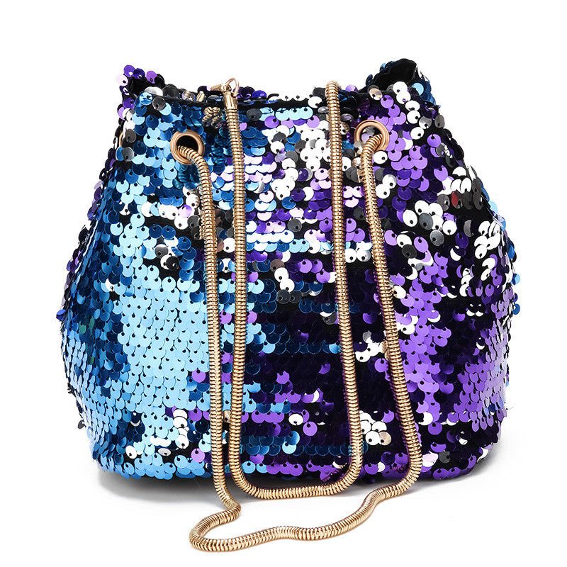 Women S Mermaid Sequin Glitter Bag Leather Purse Shoulder Crossbody Handbag In Bags From Luggage On Aliexpress Alibaba Group