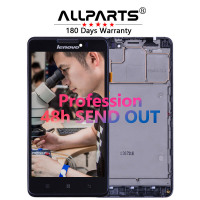 Free Tools Warranty 5 IPS LCD For LENOVO P780 Display Touch Screen With Frame Digitizer