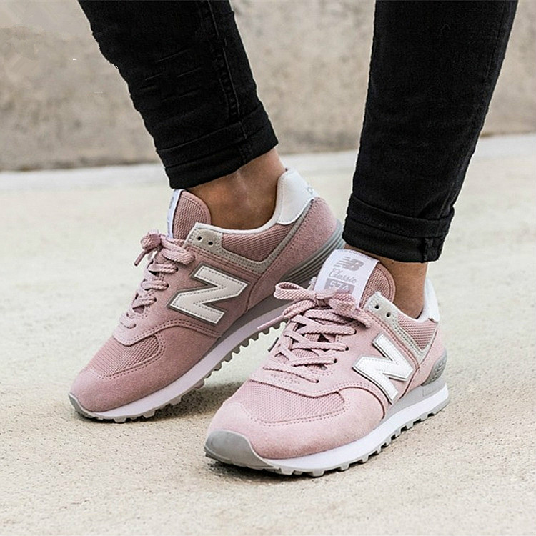 New Balance 574 Women's Sneakers WL574ESP/ESB/ESM/ESV/EW 2018 New Lightweight Hiking Shoes Walking Sneakers For Athletic Outdoor
