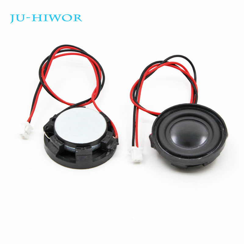 10pcs 4R 3W 23MM Round Speaker Thickness 7.5MM Complex Film Bass Loudspeaker For High-end Toys E-book