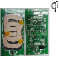 Mobile Phone Wireless Charger Three Coil 5V Three Coil Launch Module Circuit Board PCBA Program DIY