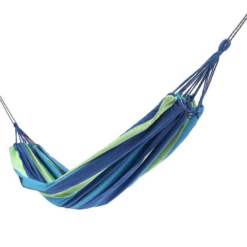 SGODDE Portable Swing Hammock Outdoor Camping Travel Patio Yard Hanging Tree Bed Canvas Hot Sale graco swing by me lx portable 2in1 swing little hoot