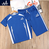 New Boys Clothing Sets Summer Casual Basketball Suit Dry Fit Children Vest Short Pants For Boys