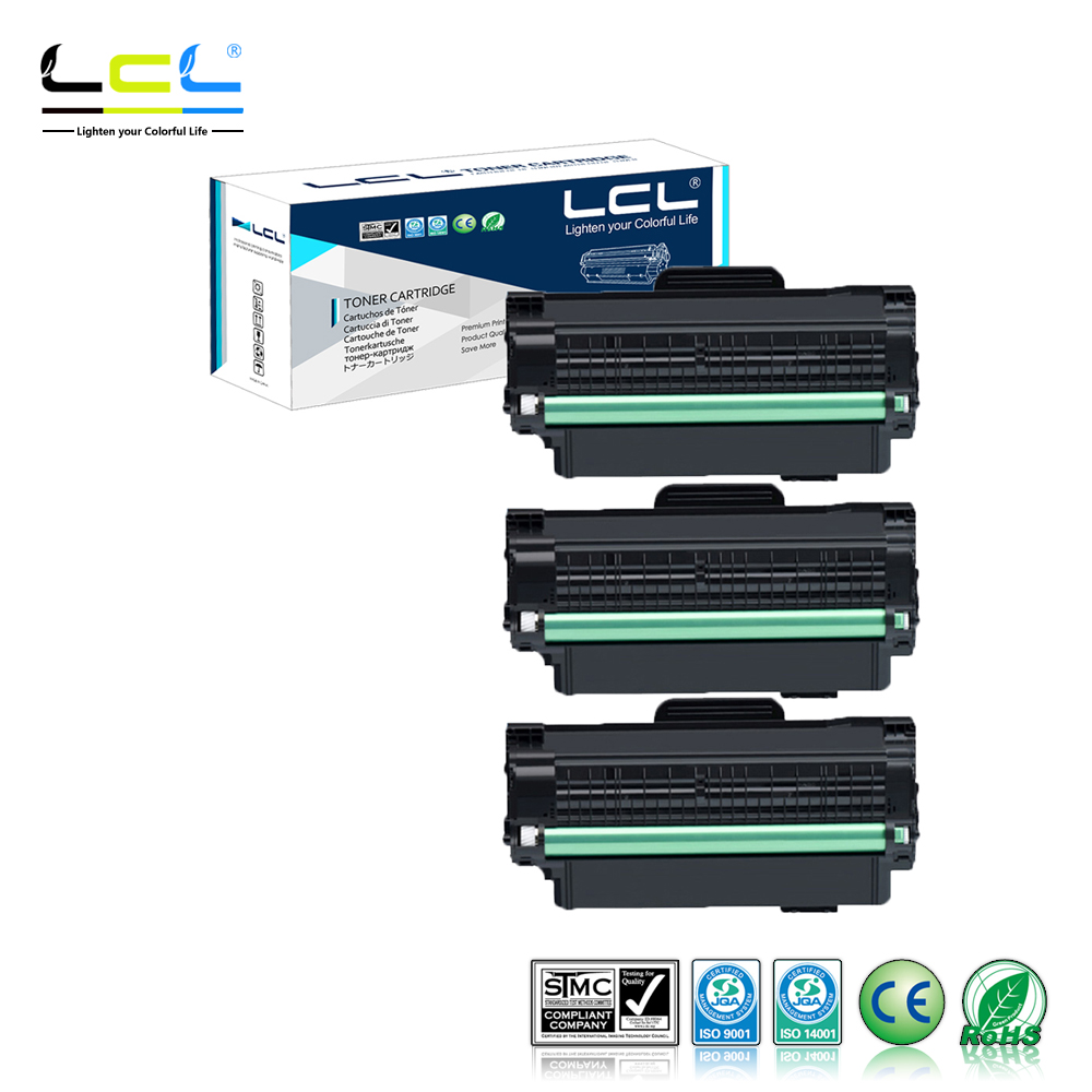 LCL MLT-D105L D105 105L MLT-D105 (3-Pack) Black Laser Toner cartridge Compatible for Samsung ML-1916K/1915K/1910K /2525K/2580NK free shipping compatible samsung bk laser scx 4300 4310 4315 spare part chip for samsung 109 mlt d109s