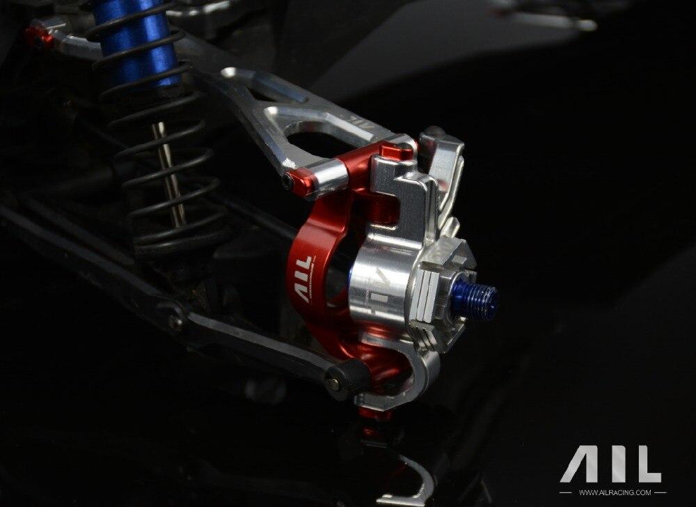 ALLRC 6061 t6 CNC In lega di Alluminio Opzionale aggiornamento Del Metallo tazza di Sterzo componenti per trax X xmaxx parti di automobili del rc - 2