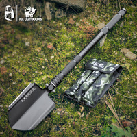 HX Outdoors Army military Soldier shovel multifunctional fishing special shovels manganese steel survival Emergency Kit Supplies