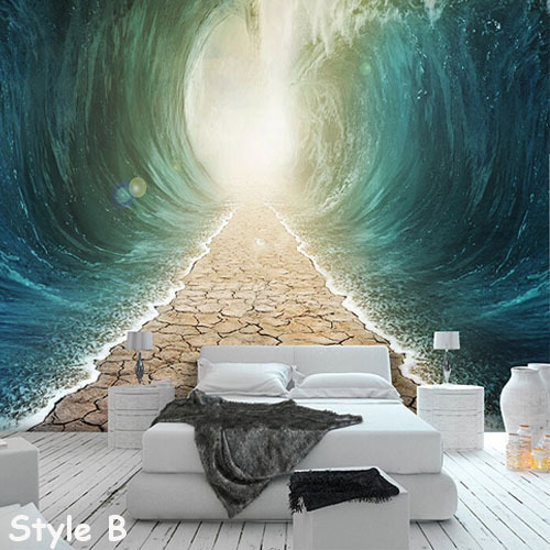 Large Photo Murals 3D TV Background Paper Wall Decor Abstract Mural ...