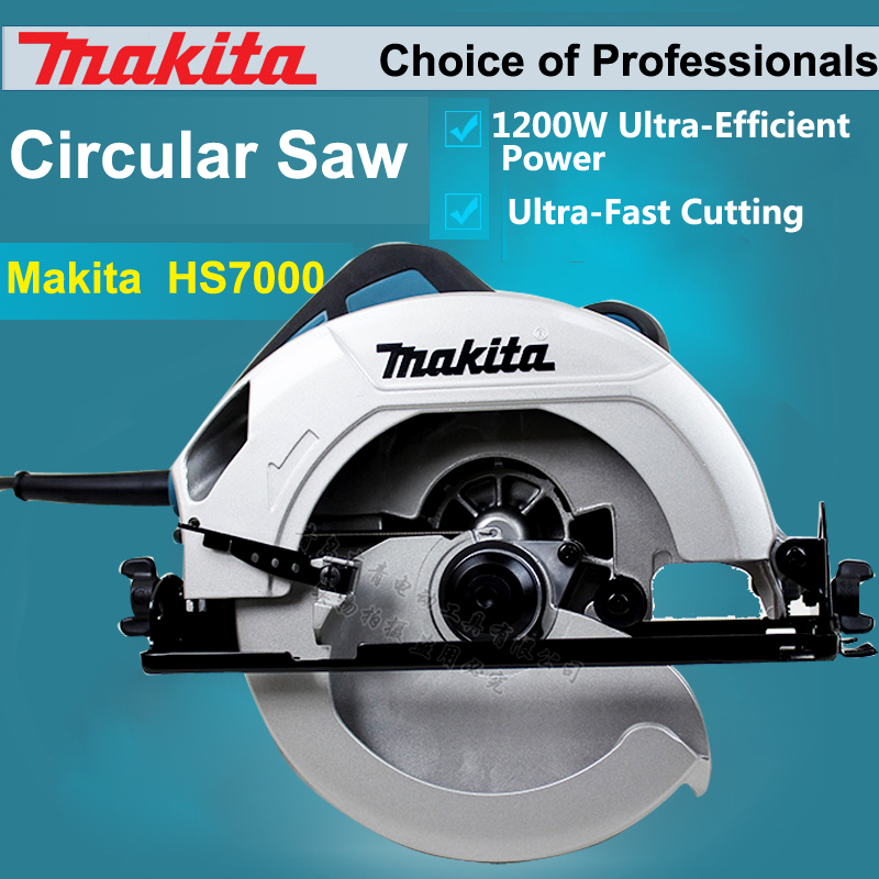 makita circular saw price. japan makita hs7000 electric circular saw woodworking saws wood chainsaws portable cutting 1200w 5200rpm-in from home improvement price 6