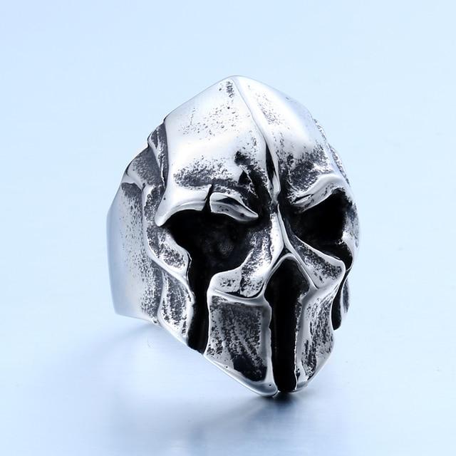 Punk Skull Ring For Man