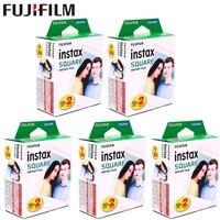 Fujifilm Instax квадратный белый край черный Плёнки Фотобумага (10-100 шт.) для Instax SQ10 SQ6 Фотоаппарат моментальной печати Поделиться SP-3 принтера