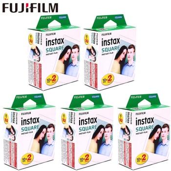 Fujifilm Instax Square White Edge Black Films Photo Paper (10-100 pcs) for Instax SQ10 SQ6 Instant Camera Share SP-3 Printer