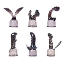 Premium Quality 3Pcs AV Rod Head Cup Female Masturbate Vagina Clitoris Stimulate Massage Sex Toy