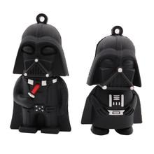 цена на USB flash drive cartoon Darth Vader pen drive 4GB 8GB 16GB 32GB 64GB Star Wars pendrive memory stick creative gift usb stick