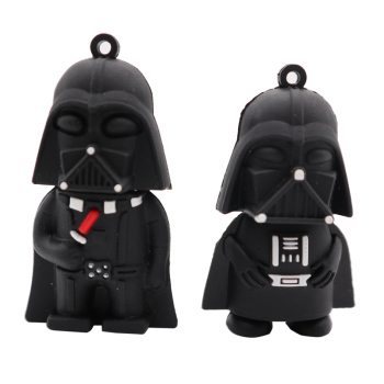 цена на USB flash drive cartoon Darth Vader pen drive 4GB 8GB 16GB 32GB 64GB Star Wars pendrive memory stick creative gift usb stick
