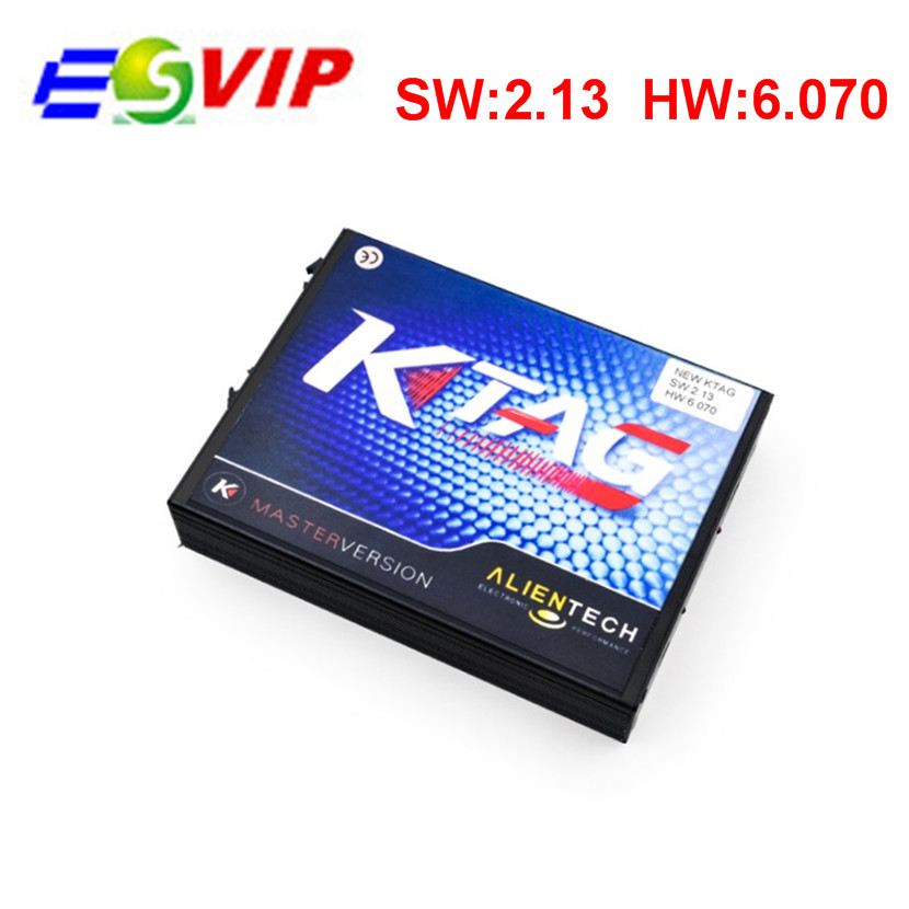 2016 Top selling V2.13 KTAG K-TAG ECU Programming Tool Master Version Hardware V6.070 k tag Unlimited tokens top rated ktag k tag v6 070 car ecu performance tuning tool ktag v2 13 car programming tool master version dhl free shipping