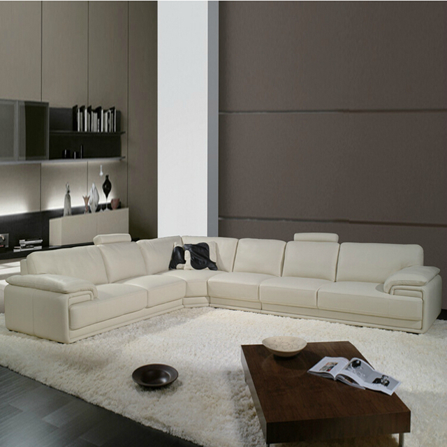 Genuine Leather Modern Sectional Sofa: Aliexpress.com : Buy 2015 New Style Chesterfield Sofa