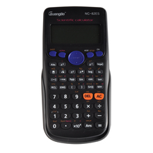 Guangbo Office Scientific Calculator Durable ABS Black&White Effective Accurate Business Multifunctional Calculadora NC-82ES