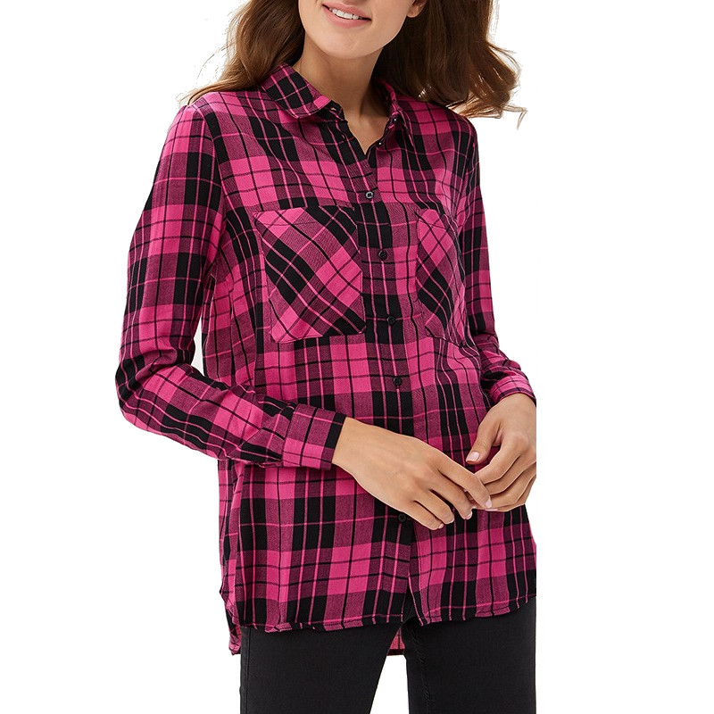 Blouses & Shirts MODIS M182W00187 blouse shirt clothes apparel for female for woman TmallFS plus collar knot blouses