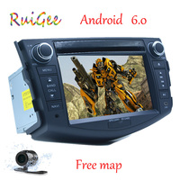 Quad Core 1024 600 HD Screen 2Din Android 6 0 Car DVD For Toyota Rav 4